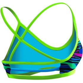 TYR Fresno Trinity bikini Dames blauw/bont